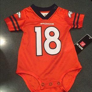 One Pieces - NWT Peyton Manning Broncos Newborn onesie 02d3851b3